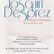 Josquin Desprez, Messes Gaudeamus et La sol fa re mi